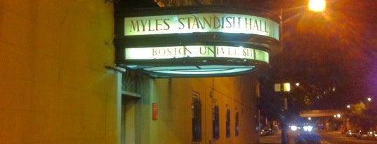 Myles Standish Hall is one of Election 2012: Where to Watch.