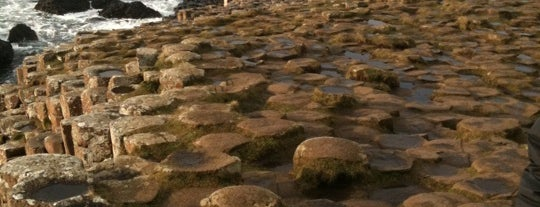 Giant's Causeway is one of wonders of the world.