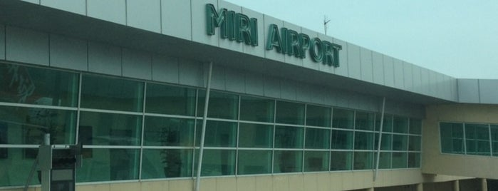 Miri Airport (MYY) is one of Orte, die Rahmat gefallen.