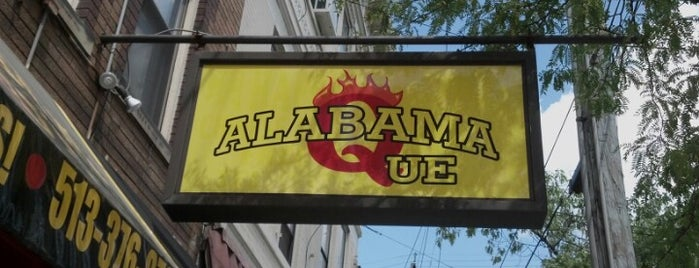 Alabama Que is one of Cinncinati.