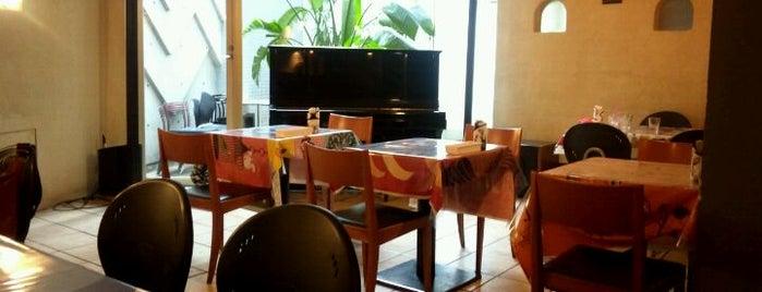 風土カフェ&バー「山羊に、聞く?」 is one of FREE Wi-Fi カフェ.