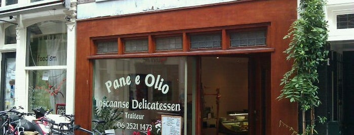 Pane & Olio is one of Amsterdam.