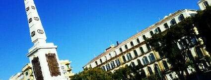 Plaza de la Merced is one of Málaga #4sqCities.
