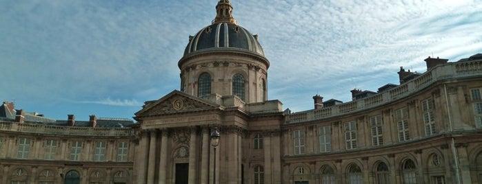 Institut de France is one of Paris.