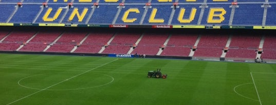 Camp Nou is one of Estadios Liga BBVA.