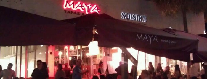 Maya's Grill Miami Beach is one of Posti che sono piaciuti a Heather.