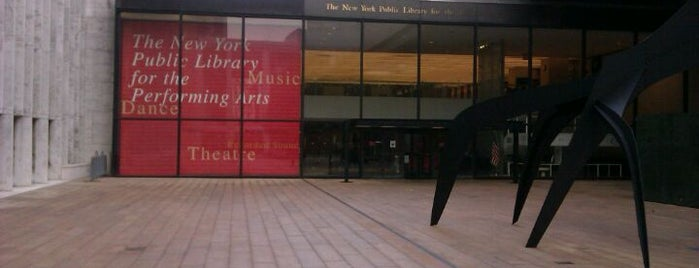 New York Public Library for the Performing Arts (LPA) is one of Explore Lincoln Center.