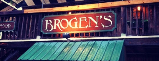 Brogen's Food & Spirits is one of Trips south.