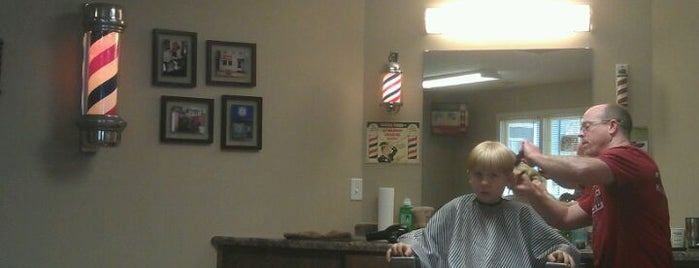 Tony's Barber Shop is one of Bloomington To Try.