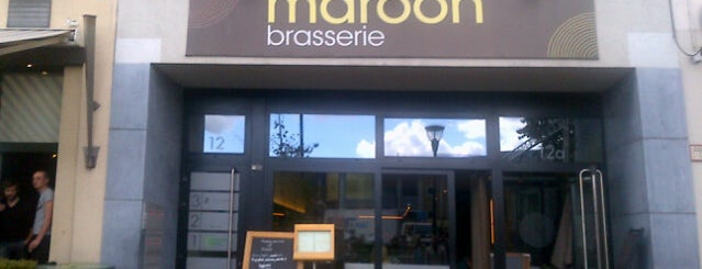 Brasserie Maroon is one of Lieux sauvegardés par simon.
