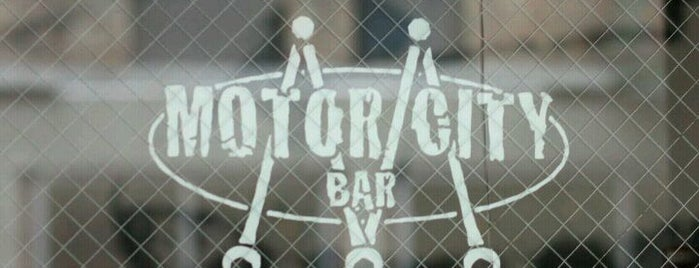 Motor City Bar is one of drinking destinations!!.