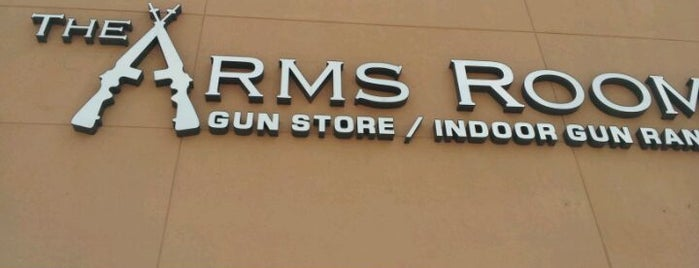 The Arms Room is one of NSSF Five Star Ranges.