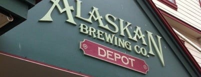 Alaskan Brewing Co. Depot is one of Lieux sauvegardés par Cusp25.