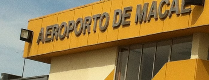 Aeroporto de Macaé (MEA) is one of ja fui.