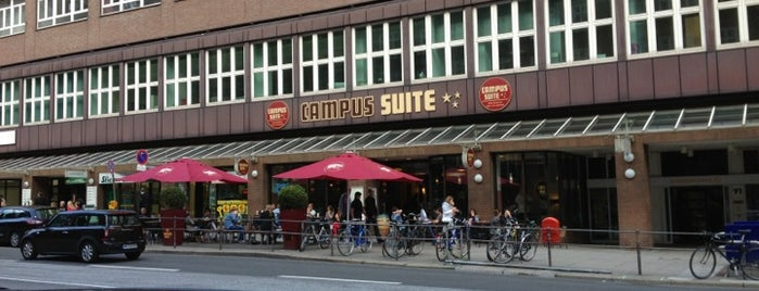 Campus Suite is one of Orte, die Ciaran gefallen.