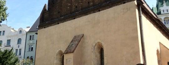 Altneu-Synagoge is one of StorefrontSticker #4sqCities: Prague.