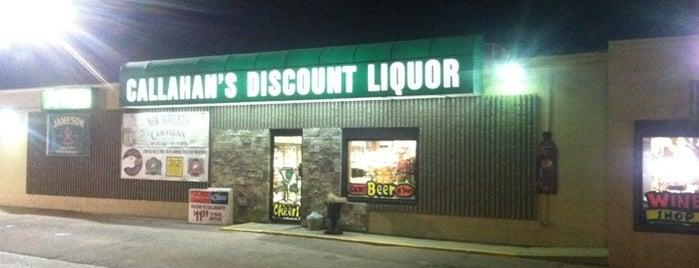 Callahan's Discount Liquor is one of Dee Dee 님이 저장한 장소.