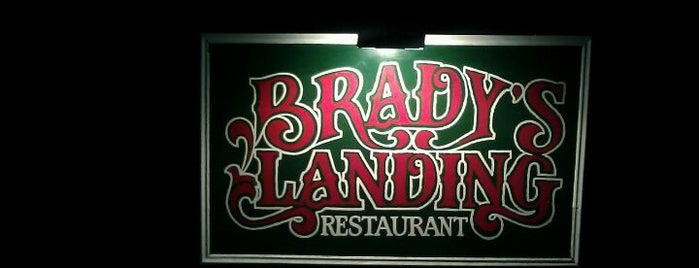 Brady's Landing is one of Restaurants to try.
