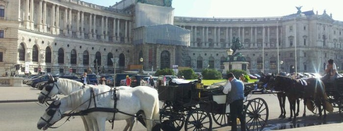 Hofburg is one of Must-Visit ... Vienna.