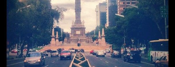 Av. Paseo de la Reforma is one of Ciudad de México.