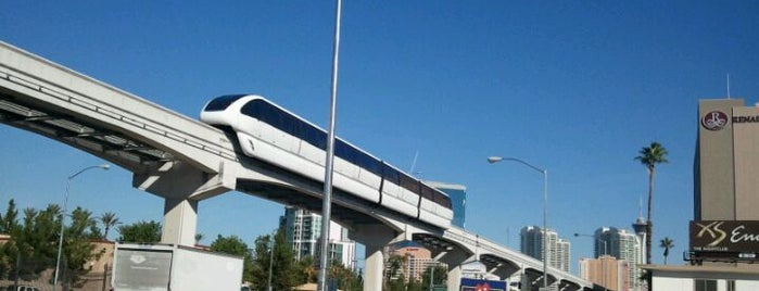 Las Vegas Monorail - Convention Center Station is one of Las Vegas with Kids 2019.