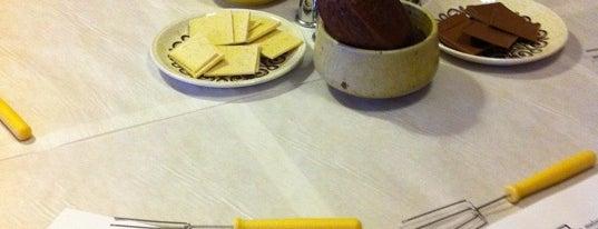 Melange Au Chocolat is one of London Munchies.