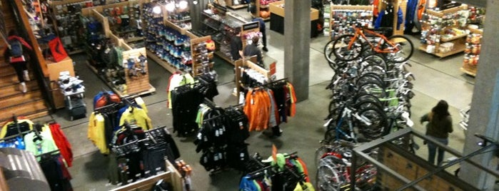 REI is one of Portland Faves.