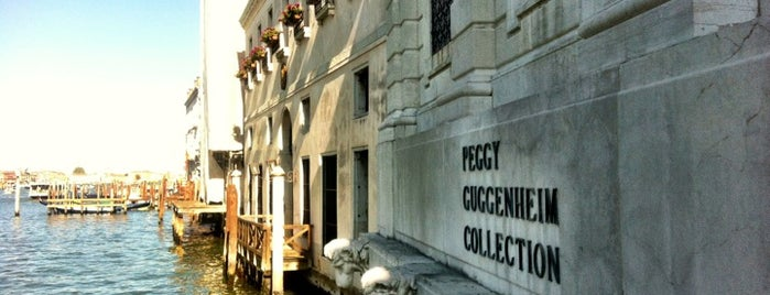 Collezione Peggy Guggenheim is one of Stevenson's Favorite Art Museums.