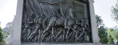 Robert Gould Shaw Memorial is one of IWalked Boston's Public Art (Self-guided Tour).