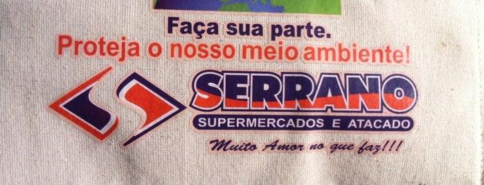 Serrano Supermercados is one of Posti che sono piaciuti a Cláudia Kiyoko.
