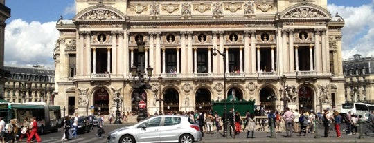 Place de l'Opéra is one of places to return to (1 of 4).