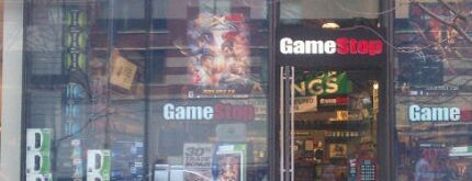 GameStop is one of NYC Spots.