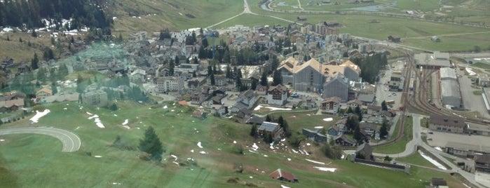 Andermatt is one of SkiArena Andermatt Sedrun.