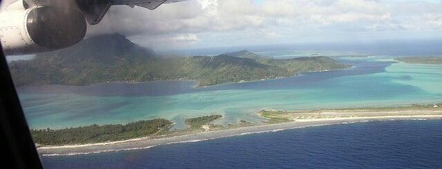Bora Bora Airport (BOB) is one of Visited Airports around the world.