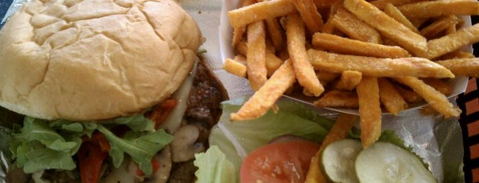 Joe's Farm Grill is one of best burger joints.