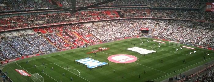 Wembley Stadium is one of Best football stadiums I've seen a match.