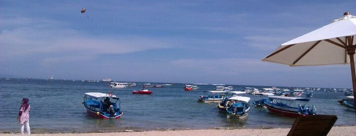 Tanjung Benoa Beach is one of pick up.