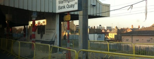 Warrington Bank Quay Railway Station (WBQ) is one of You calling me a train spotter?.
