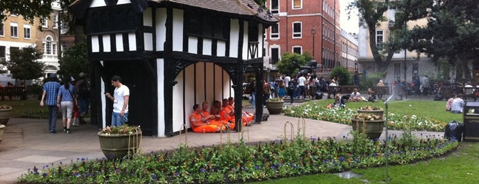 Soho Square is one of Great Venues To Visit....
