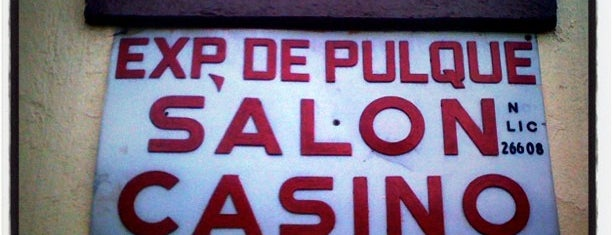 Salon Casino Pulqueria is one of Interés df.