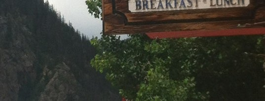 Log Cabin Cafe is one of On The Road Recommendations.