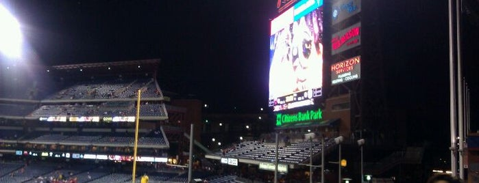 Citizens Bank Park is one of Badge of Brotherly Love #visitUS.