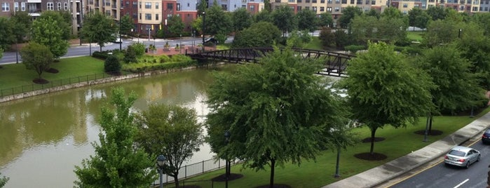 Atlantic Station Pond is one of Atlantic station.