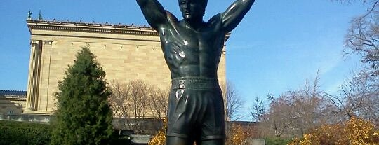 Rocky Statue is one of Badge of Brotherly Love #visitUS.