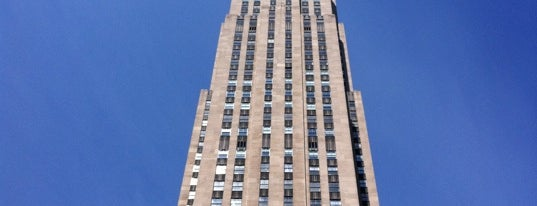 Rockefeller Center is one of (architecture) in NYC.