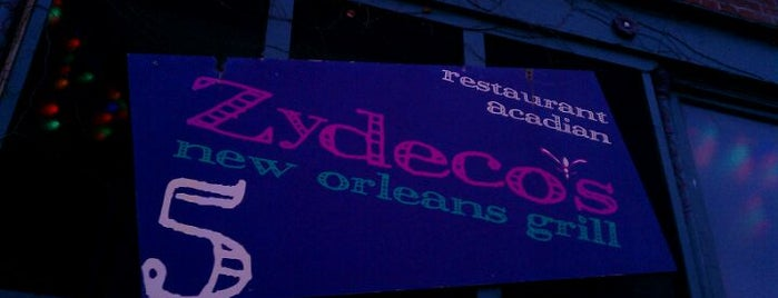 Zydeco's is one of Diners, Drive-Ins & Dives 3.