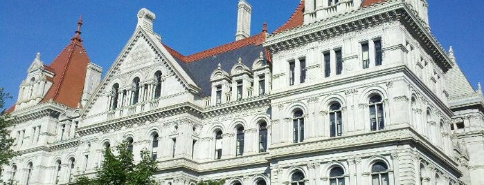 New York State Capitol is one of Places that are checked off my Bucket List!.