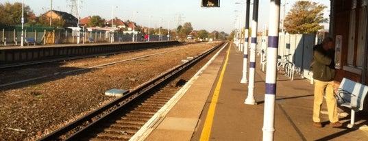 Folkestone West Railway Station (FKW) is one of mamma.