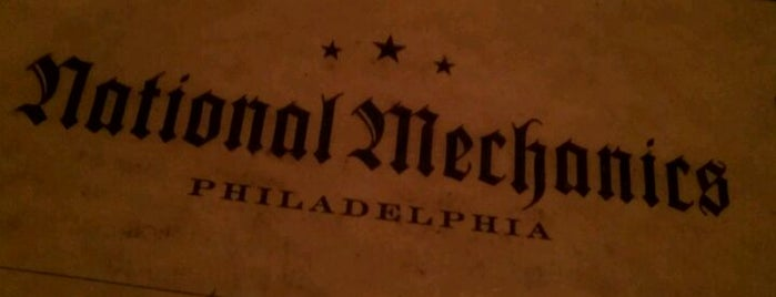National Mechanics is one of Eat, Drink & Be Philly Dining Guide!.