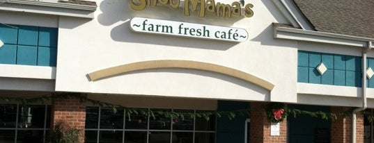 Shoo Mama's Farm Fresh Cafe is one of Gespeicherte Orte von Sarah.